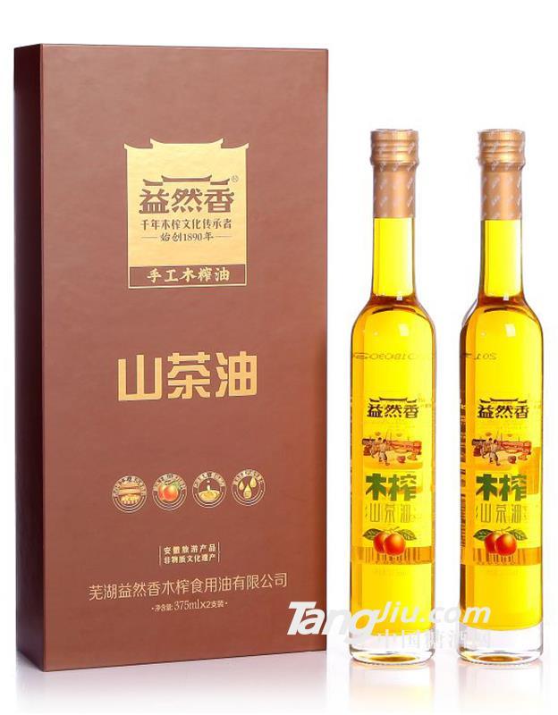益然香山茶油375ml