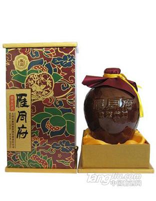 雁同府-黄酒-2.5L