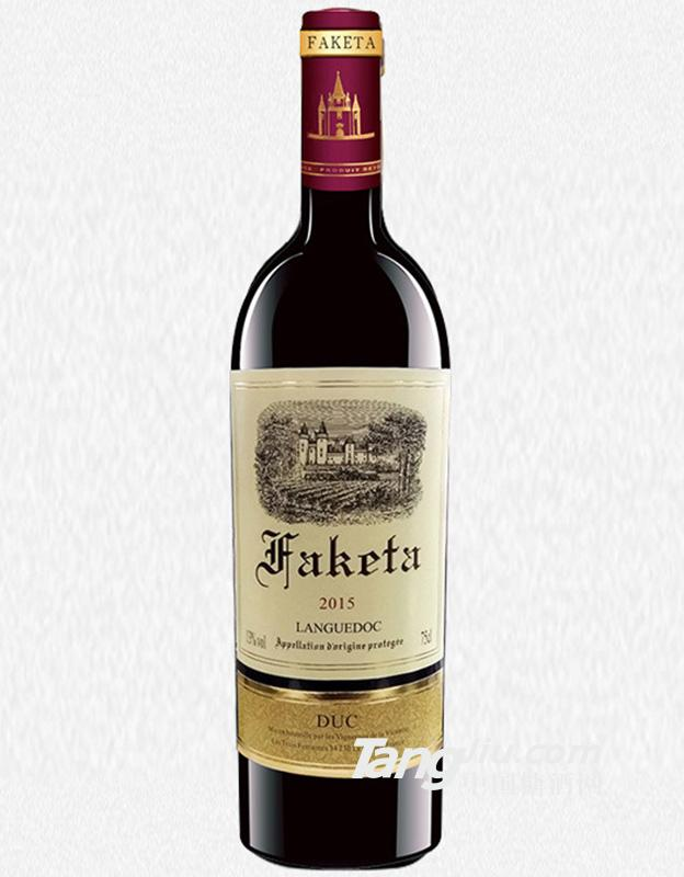 法国公爵干红葡萄酒750ml