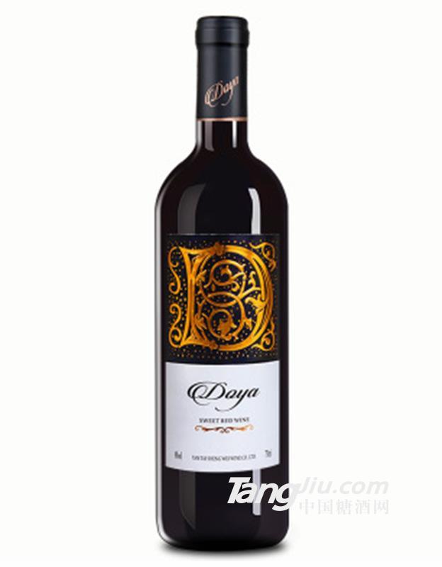 朵雅 精品甜红葡萄酒8度750ml