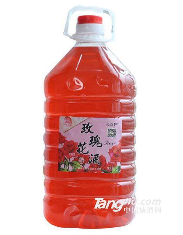 玫瑰花酒5L
