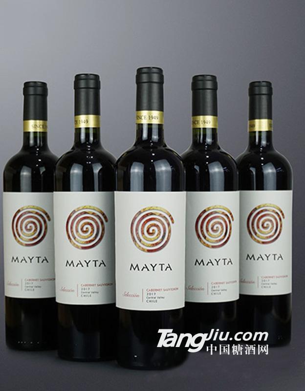 魅塔精选梅洛红葡萄酒2017