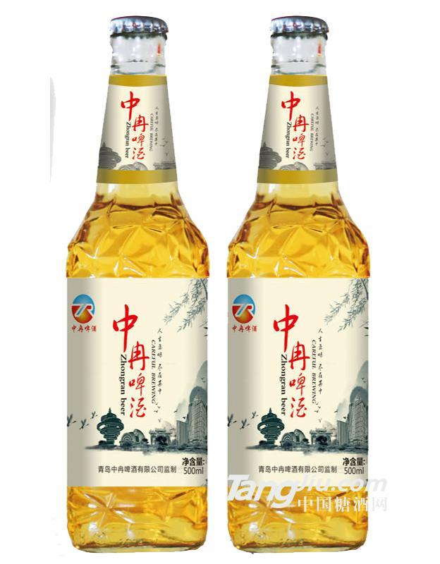 青岛中冉-中冉啤酒500ml