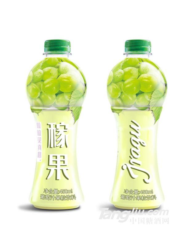 稼果葡萄汁果粒饮料450ml