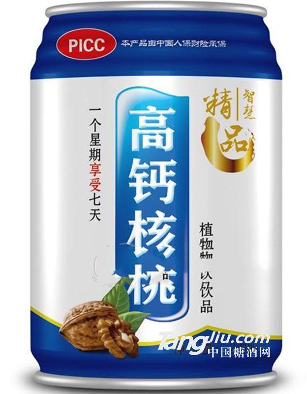 高钙核桃 植物蛋白饮料 240ml