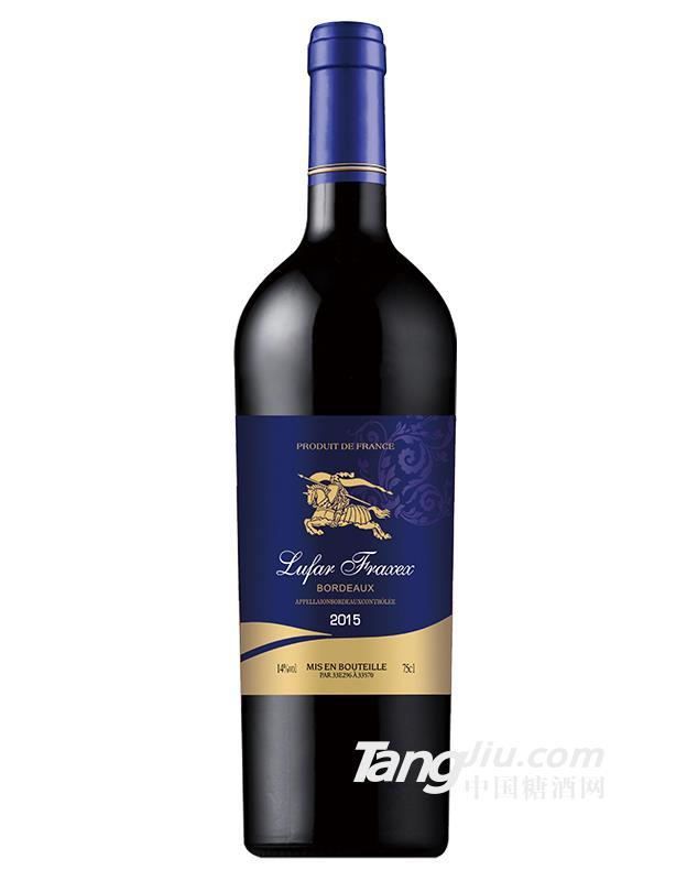 法国黑轩黑暗游侠干红葡萄酒