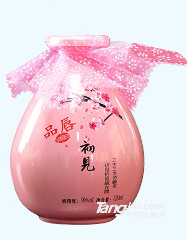 品唇·520初见桃花酒