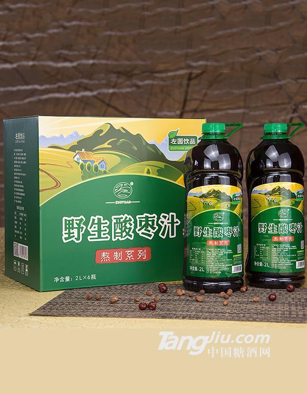 野生酸枣汁2L×6瓶