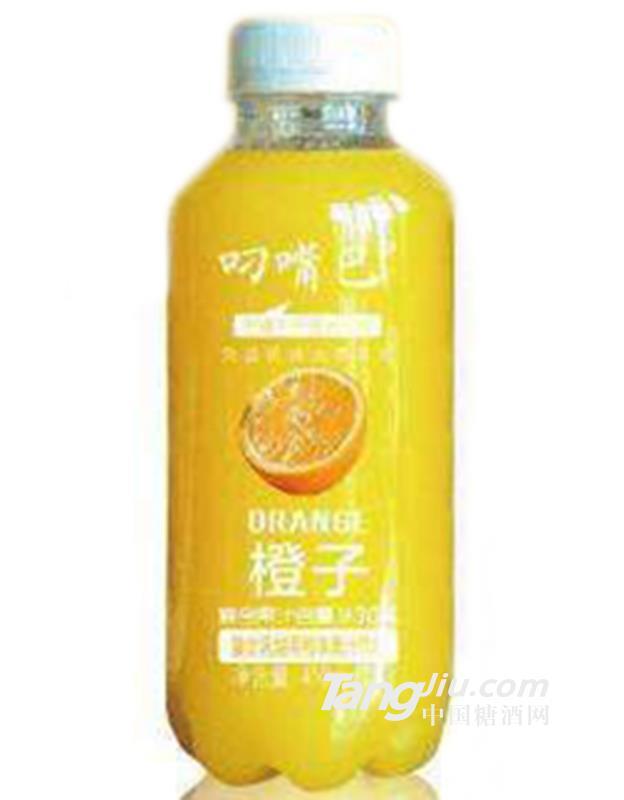 叼嘴巴橙汁饮料410ml