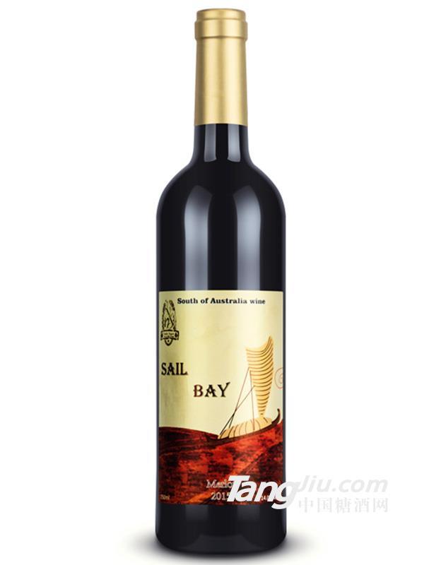 14°澳洲风帆梅洛干红葡萄酒750ml