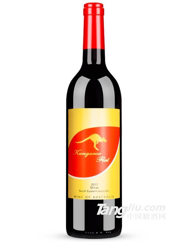 14°澳洲袋鼠家园西拉干红葡萄酒750ml