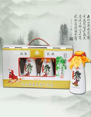 景阳冈礼盒大酒壶
