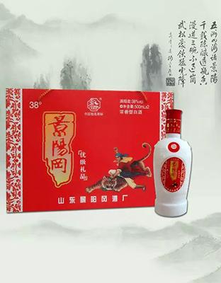 景阳冈红花礼盒
