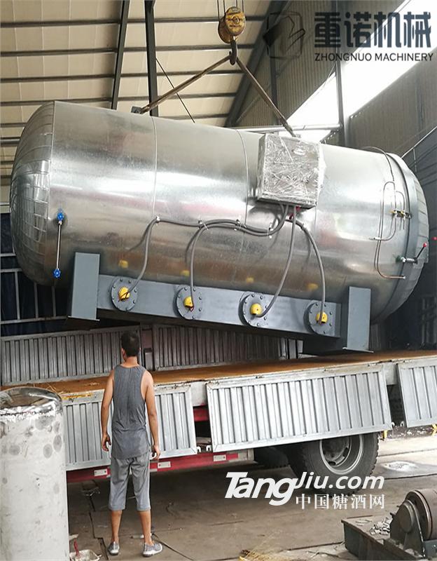 塑胶跑道专用硫化罐,蒸汽加热硫化罐