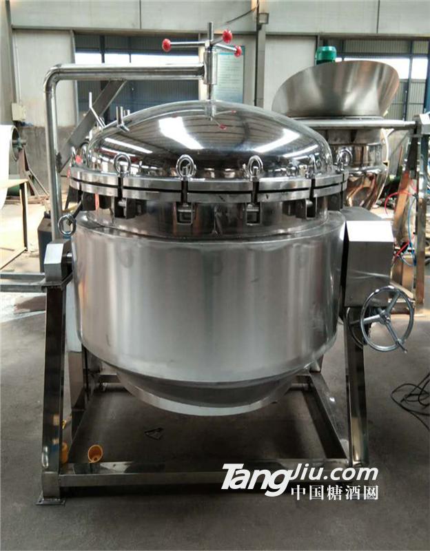 供应高压夹层锅,猪蹄卤煮锅,熟食卤制机