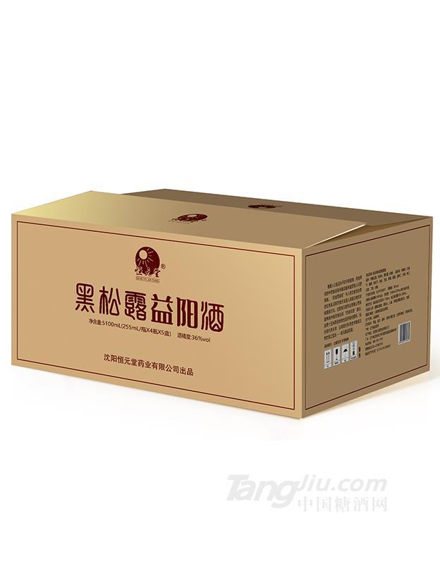 36度255ML 1×4瓶×5提黑松露酒
