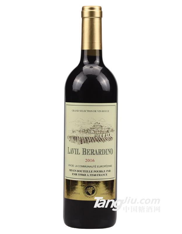 拉云娜贝拉尔克干红葡萄酒-750ml